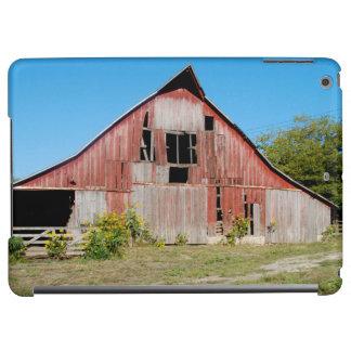 Los E.E.U.U., Kansas, granero rojo viejo