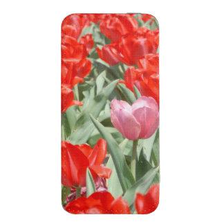 Los E.E.U.U., Kansas, tulipanes rojos con un Funda Para iPhone 5