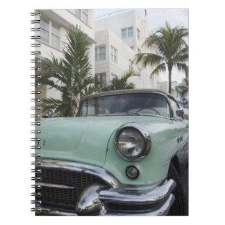 Los E.E.U.U., la Florida, Miami Beach: Beach del s Libretas