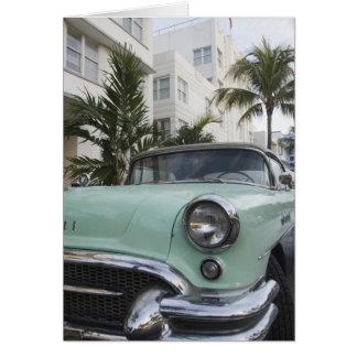 Los E.E.U.U., la Florida, Miami Beach: Beach del s Tarjeta De Felicitación