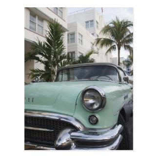 Los E.E.U.U., la Florida, Miami Beach: Beach del Tarjeta Postal