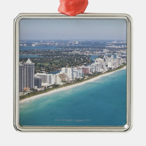 Los E.E.U.U., la Florida, Miami, paisaje urbano co Ornamento Para Reyes Magos
