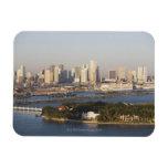 Los E.E.U.U., la Florida, Miami, paisaje urbano co Iman