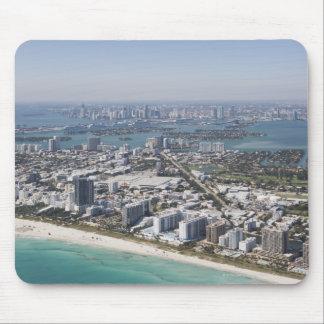 Los E.E.U.U., la Florida, Miami, paisaje urbano co Tapetes De Ratón