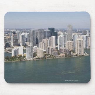 Los E.E.U.U., la Florida, Miami, paisaje urbano co Alfombrilla De Ratón