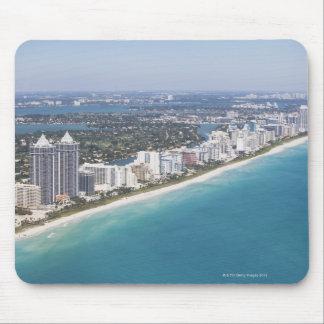 Los E.E.U.U., la Florida, Miami, paisaje urbano co Alfombrilla De Ratones