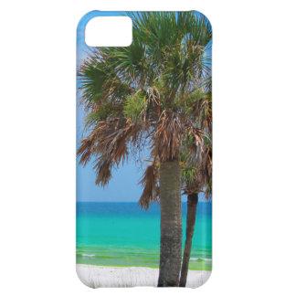 Los E.E.U.U., la Florida. Palmeras en costa Funda Para iPhone 5C