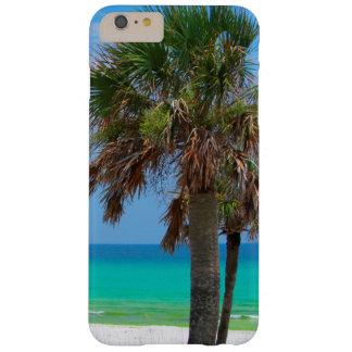 Los E.E.U.U., la Florida. Palmeras en costa Funda Para iPhone 6 Plus Barely There