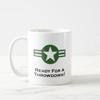 Los E.E.U.U. listos para un verde del Throwdown Taza De Café