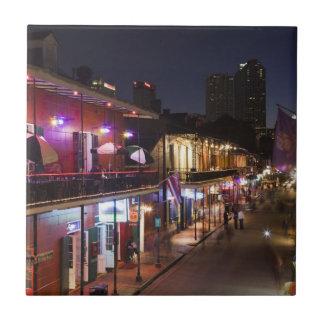 Los E.E.U.U., Luisiana, New Orleans. Barrio Azulejo Cuadrado Pequeño