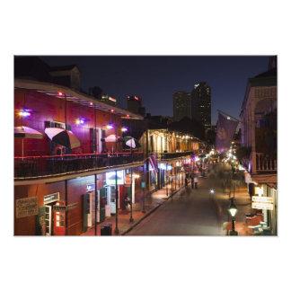 Los E.E.U.U., Luisiana, New Orleans. Barrio francé Fotografía