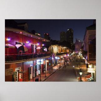 Los E.E.U.U., Luisiana, New Orleans. Barrio francé Impresiones