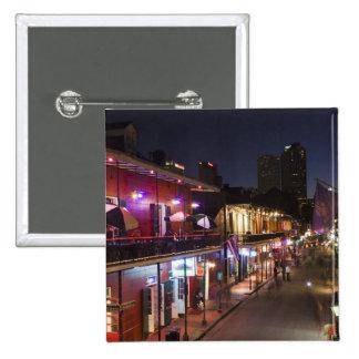 Los E.E.U.U., Luisiana, New Orleans. Barrio francé Pin Cuadrada 5 Cm