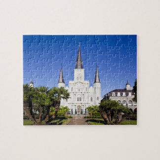 Los E.E.U.U., Luisiana, New Orleans. Barrio francé Puzzle