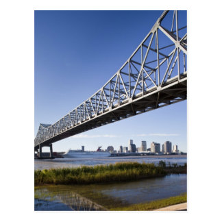 Los E.E.U.U., Luisiana, New Orleans. Horizonte del Tarjeta Postal