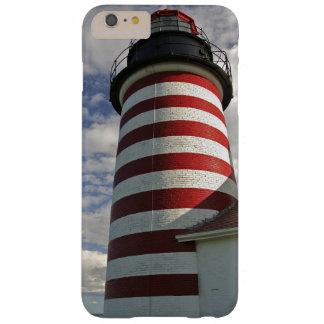 Los E.E.U.U., Maine, Lubec. Faro principal del Funda De iPhone 6 Plus Barely There
