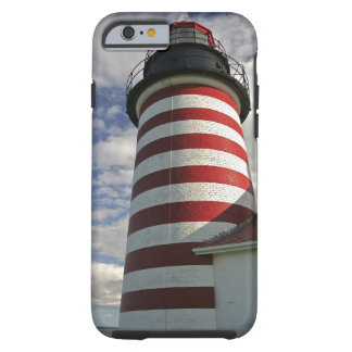 Los E.E.U.U., Maine, Lubec. Faro principal del Funda Para iPhone 6 Tough