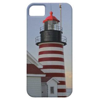 Los E.E.U.U., Maine, Lubec. Faro principal del Funda Para iPhone SE/5/5s