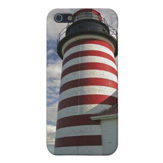 Los E.E.U.U., Maine, Lubec. Faro principal del iPhone 5 Carcasa