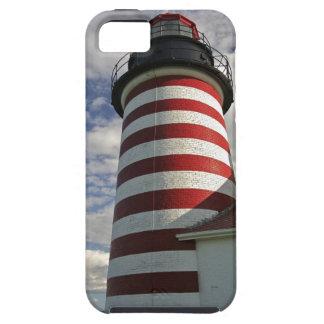 Los E.E.U.U., Maine, Lubec. Faro principal del iPhone 5 Carcasas
