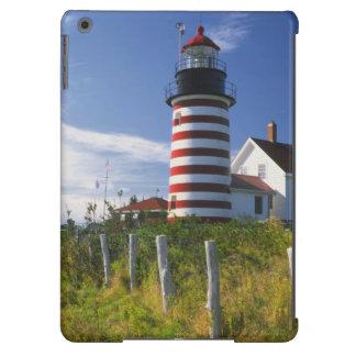 Los E.E.U.U., Maine, Lubec. Faro principal del oes Funda Para iPad Air