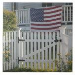 Los E.E.U.U., Massachusettes, Gloucester: Cerca pa Azulejo Cuadrado Grande