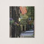 Los E.E.U.U., Massachusetts, Boston, colina de far Puzzle