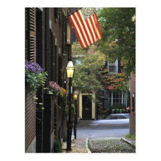 Los E.E.U.U., Massachusetts, Boston, colina de Tarjeta Postal