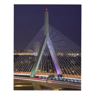 Los E.E.U.U., Massachusetts, Boston. Leonard Zakim Cuadro