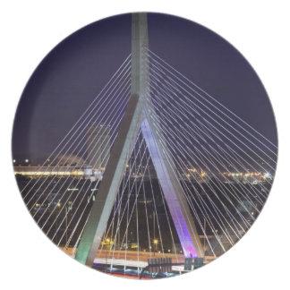 Los E.E.U.U., Massachusetts, Boston. Leonard Zakim Plato