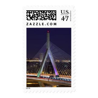 Los E.E.U.U., Massachusetts, Boston. Leonard Zakim Timbres Postales