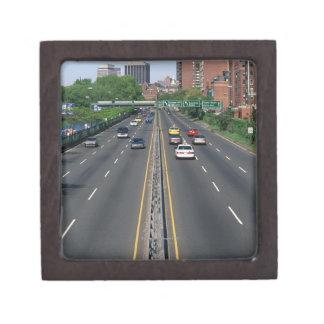Los E.E.U.U., Massachusetts, Boston, tráfico en St Caja De Joyas De Calidad