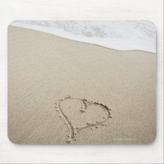 Los E.E.U.U., Massachusetts, corazones dibujados Alfombrillas De Ratón