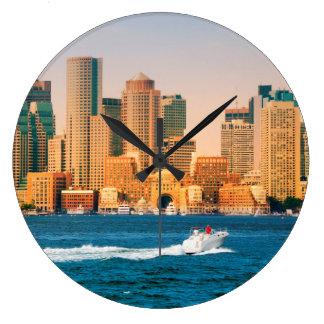 Los E.E.U.U., Massachusetts. Panorama de la costa Reloj Redondo Grande
