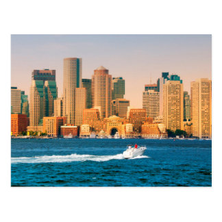 Los E.E.U.U., Massachusetts. Panorama de la costa Tarjetas Postales