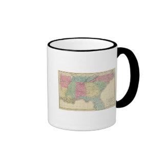 Los E.E.U.U. meridionales Taza A Dos Colores