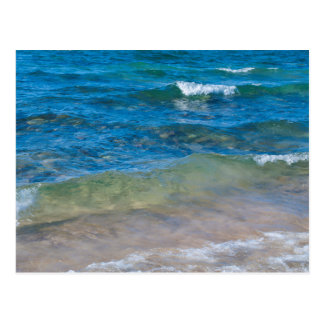 Los E.E.U.U., Michigan. Aguas claras del lago Postal