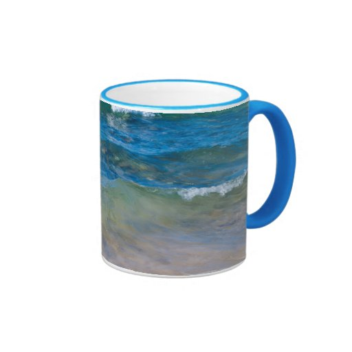 Los E.E.U.U., Michigan. Aguas claras del lago Tazas De Café