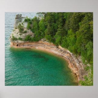 Los E.E.U.U., Michigan. Formación 4 de Castle Rock Póster
