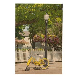 Los E.E.U.U., Michigan, isla de Mackinac. Bici Cuadros De Madera