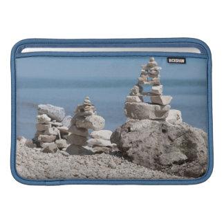 Los E.E.U.U., Michigan. Torres de piedra en la Funda MacBook