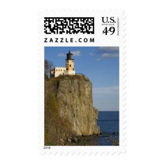 Los E.E.U.U., Minnesota.  Faro partido de la roca Sellos Postales