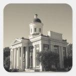 Los E.E.U.U., Mississippi, cantón. Ciudad del cine Pegatina Cuadradas Personalizadas
