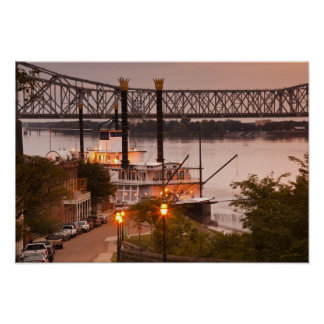 Los E.E.U.U., Mississippi, Natchez. Natchez debajo Impresiones