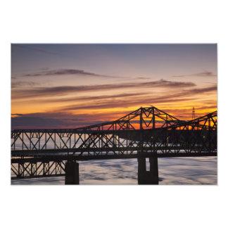 Los E.E.U.U., Mississippi, Vicksburg. Carretera I- Impresion Fotografica