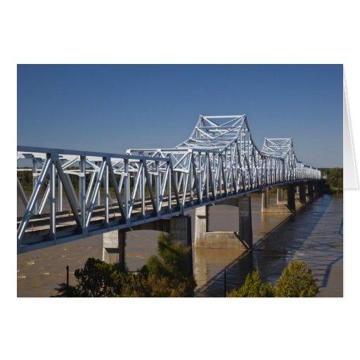 Los E.E.U.U., Mississippi, Vicksburg. Carretera I- Tarjeta