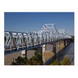 Los E.E.U.U., Mississippi, Vicksburg. Carretera I- Tarjetas Postales