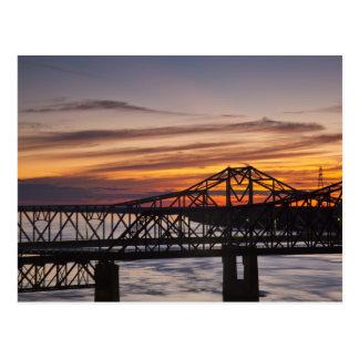 Los E E U U Mississippi Vicksburg Carretera I- Tarjeta Postal