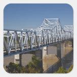 Los E.E.U.U., Mississippi, Vicksburg. Carretera Pegatina Cuadrada