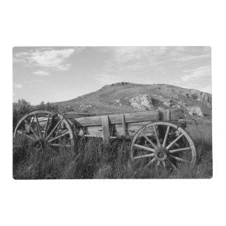 Los E.E.U.U., Montana, carro viejo del parque de Tapete Individual